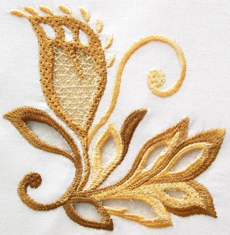 Cutwork embroidery designs – Runway trend!