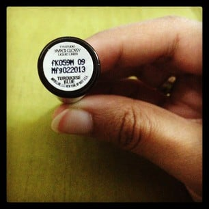 Maybelline HyperGlossy Runway Pop Liquid Liner Turquoise blue