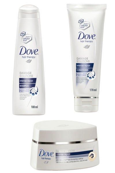 Dove intense repair range