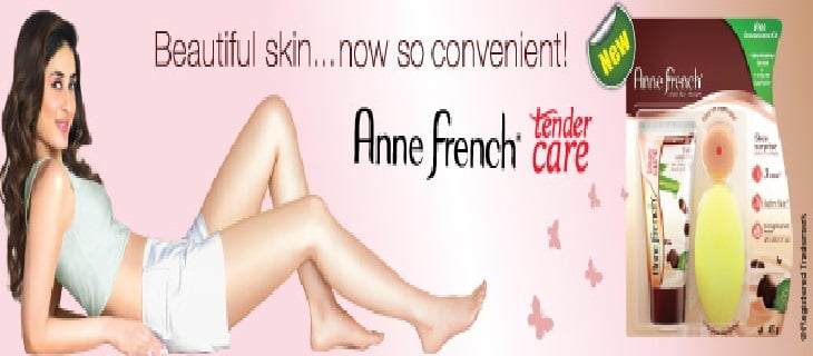 Anne French Tender care hair remover creme review