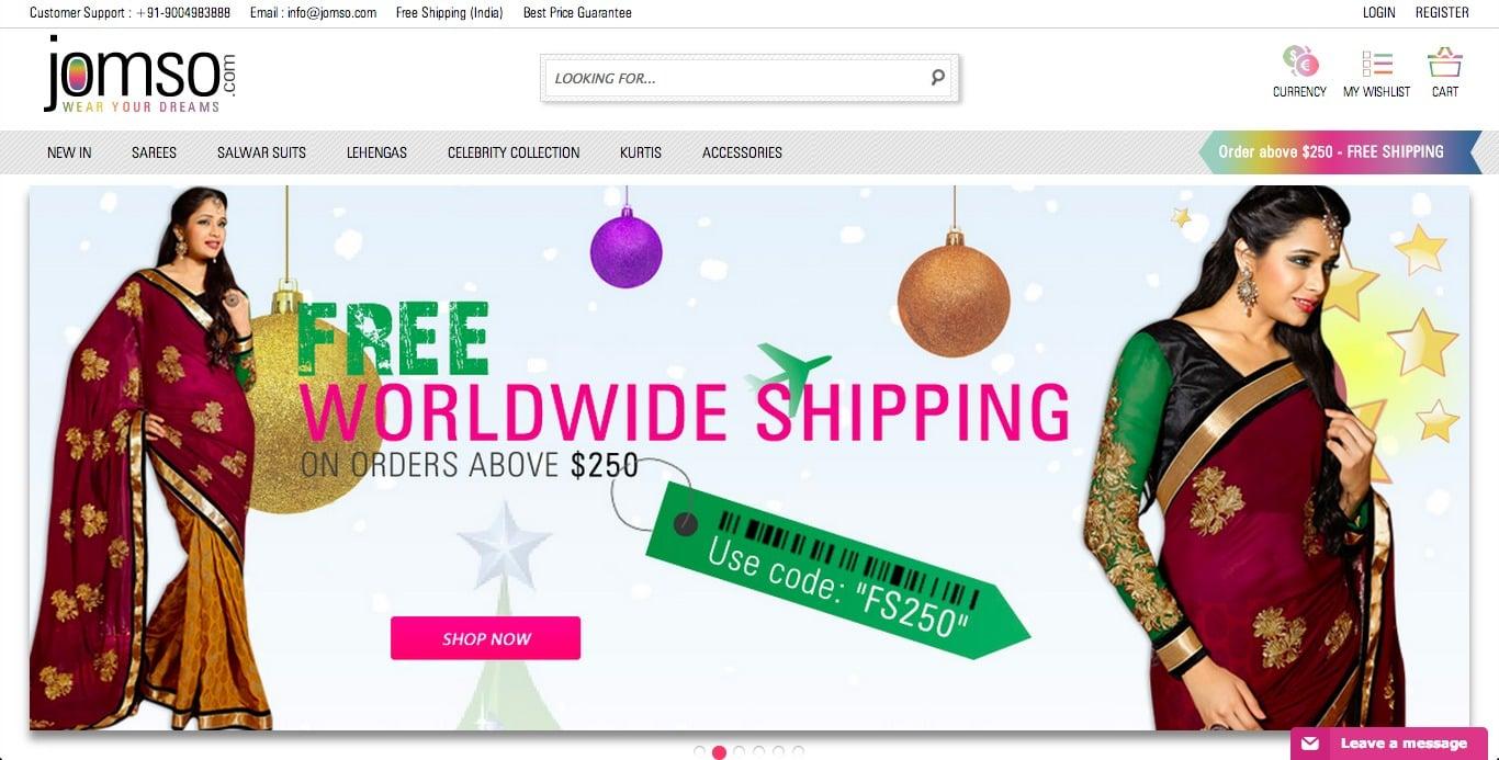 Jomso online shopping app