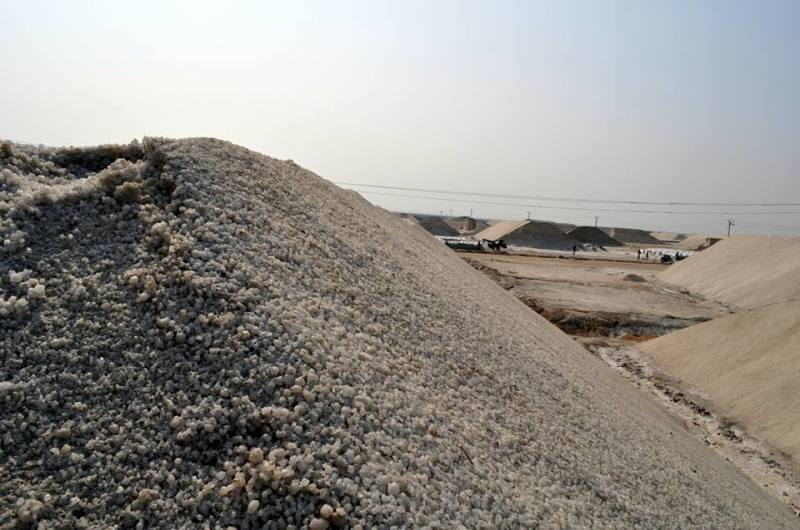 Travel Blog India | salt mountain in rann of kutch