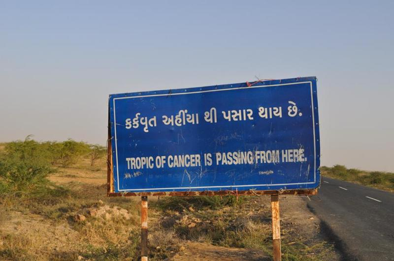 Travel Blog India | tropic of cancer in gujarat | road tripping to the rann of kutch