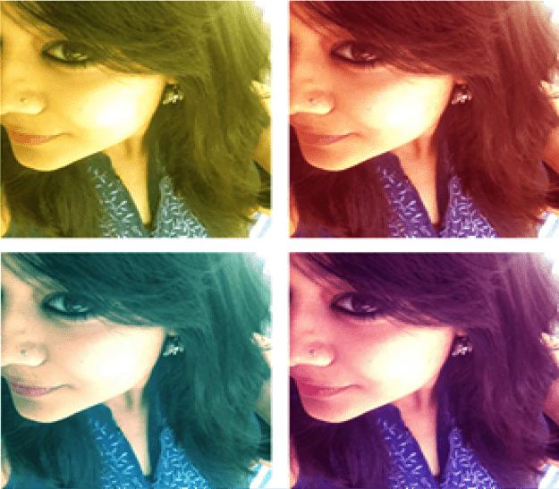 Variations of selfie