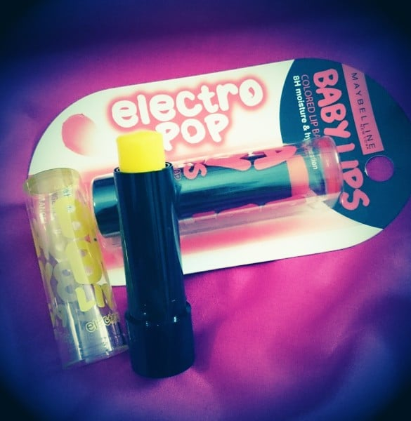 Maybelline Electro pop lip balm