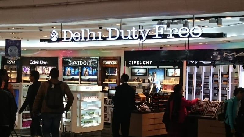 Delhi duty free