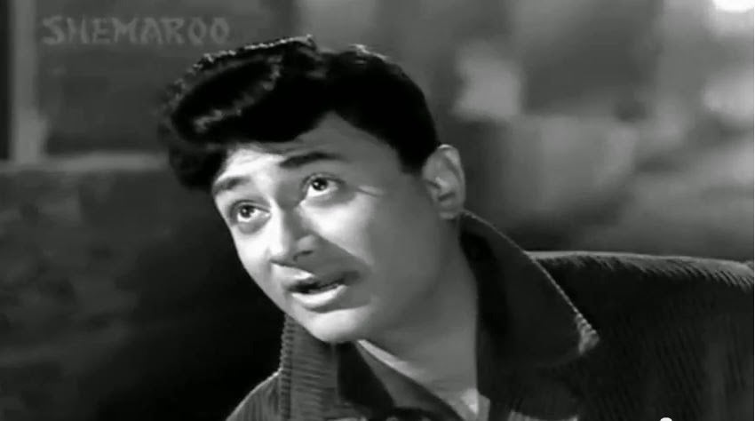 Dev Anand in Black Suit
