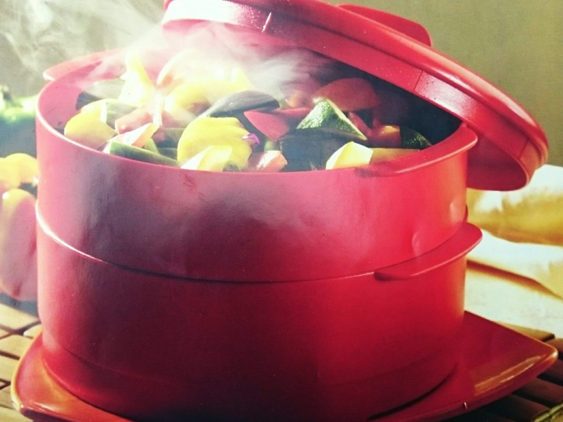 Tupperware steam it recipes