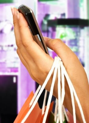 mobile app shopping