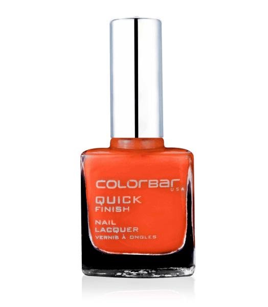 Colorbar Quick Finish Nail Lacquer Orange Blast review