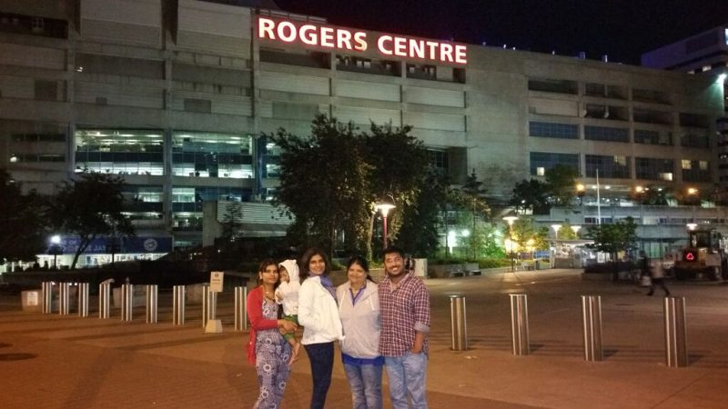 rogers center in toronto/2015