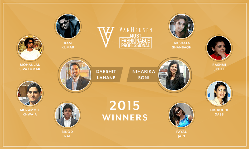 Van Heusen #MostFashionableProfessional Winners
