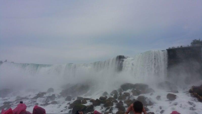 Niagara Falls- so close, so real!
