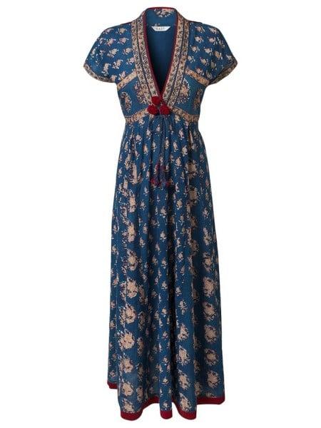 Jaipuri print long kurta