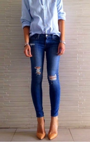 how to be happy in jeans