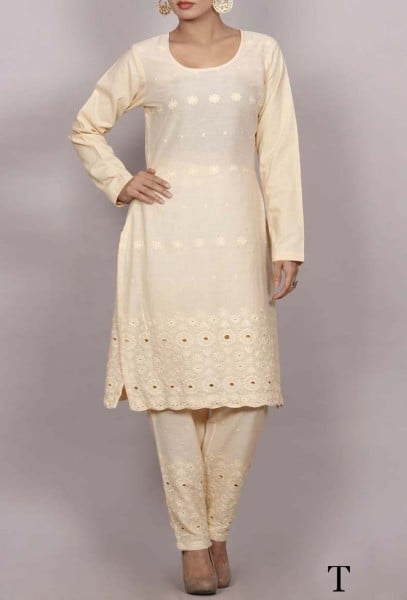 Chikankari suit set