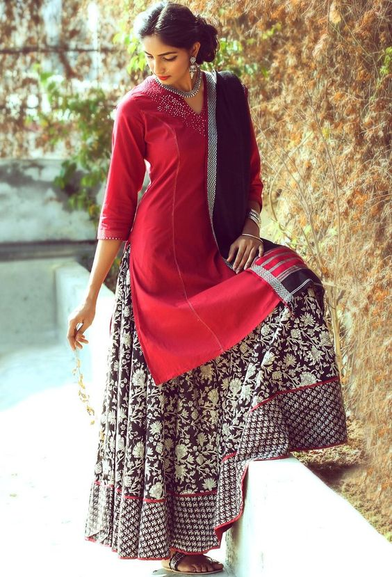 Kurtas with Skirts