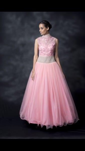 Pink Peacock Couture by Masumi Mewawalla
