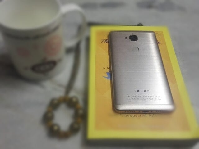 honor 5x finger print sensor