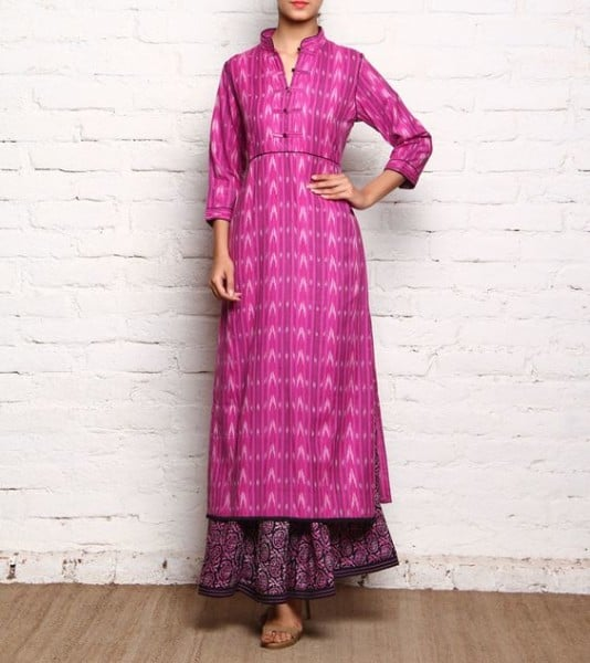 pair a Kurta with Skirt for a beautiful day look