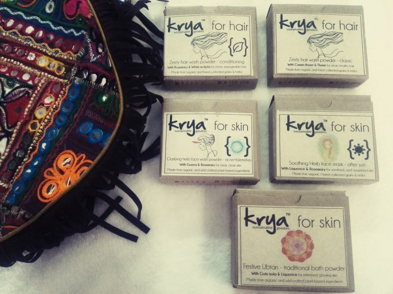 Krya: Sustainable Skin Care, Hair Care and Home Cleaning