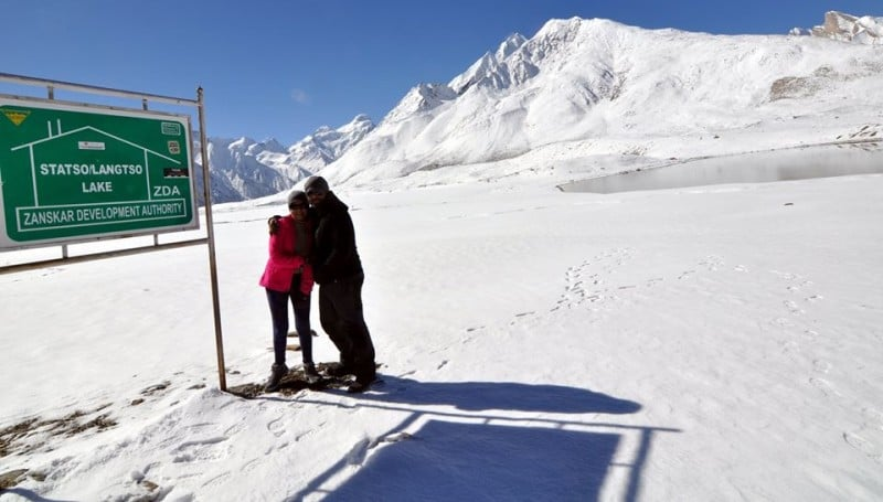 Stat Tso Lang Tso twin lakes Zanskar Valley