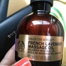 The Body Shop French Lavender Massage Oil Review