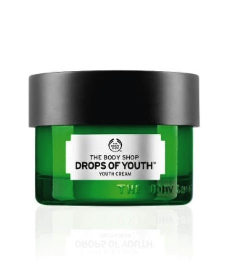the body shop drops of youth cream review