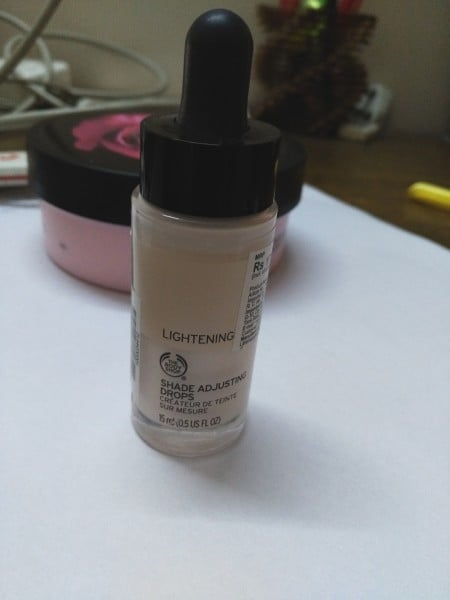 the body shop shade adjusting drops review