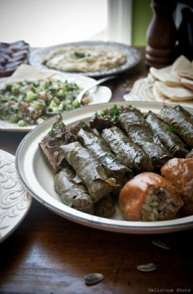 5 must try vegetarian Arabic foods in Jordan