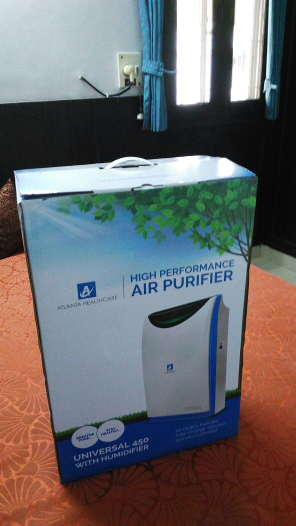 Atlanta Healthcare Universal 450 Air Purifier review