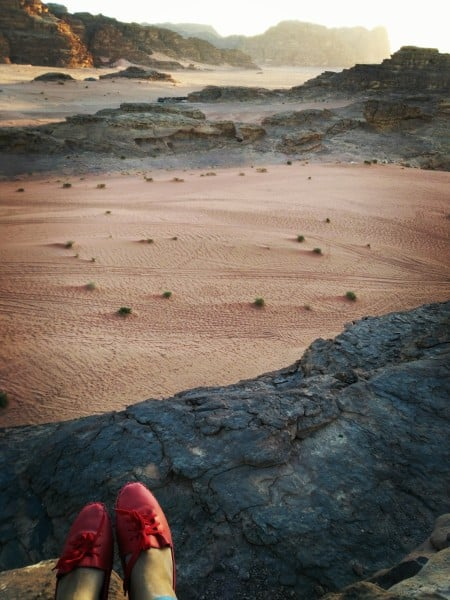 Look at the magnificence of Wadi Rum...
