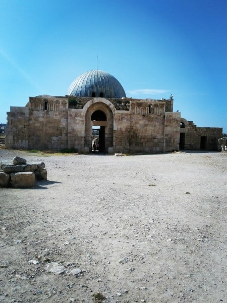 The beautiful Umayyad Palace at Amman Citadel...