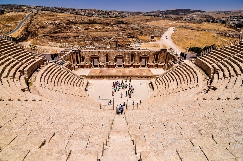 Jerash-Amphitheater