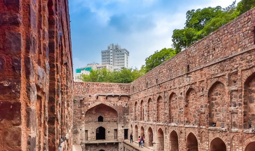 Agrasen ki Baoli in pictures
