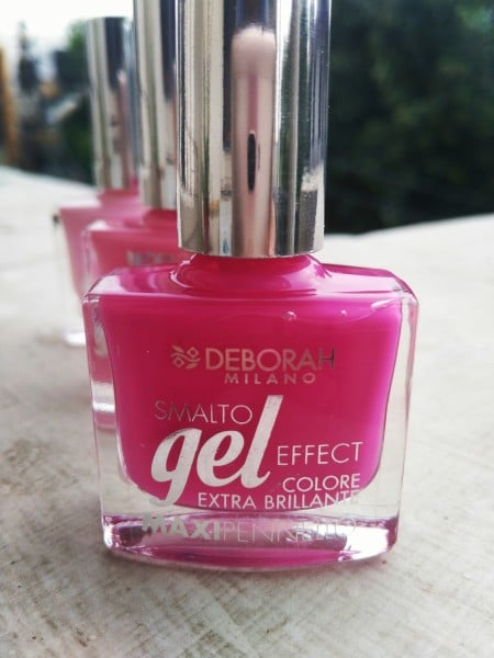 Deborah Milano Gel effect nail polish review