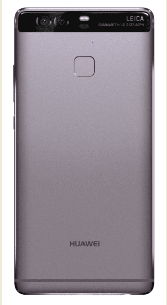 Sleek and stylish Huawei P9