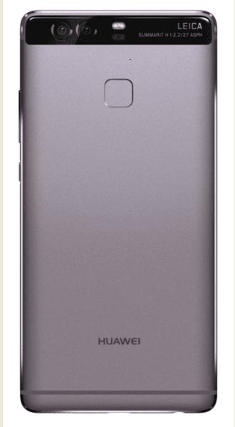 Sleek and stylish Huawei P9