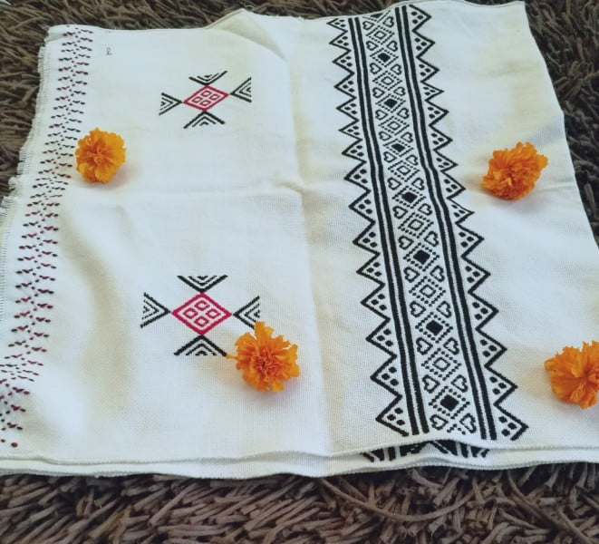 Toda embroidery shawls online