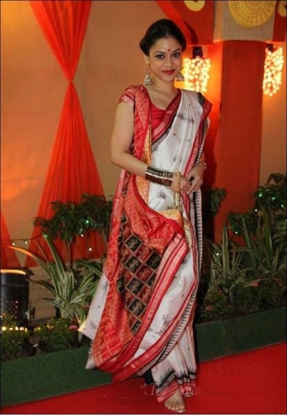 unique ways to tie a saree