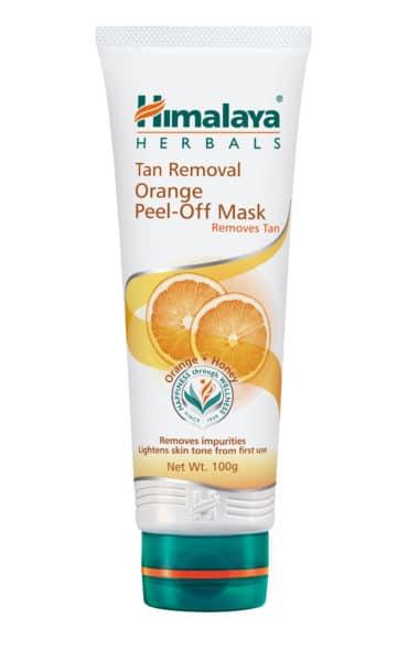 Himalaya Tan Removal Orange Peel-off Mask review