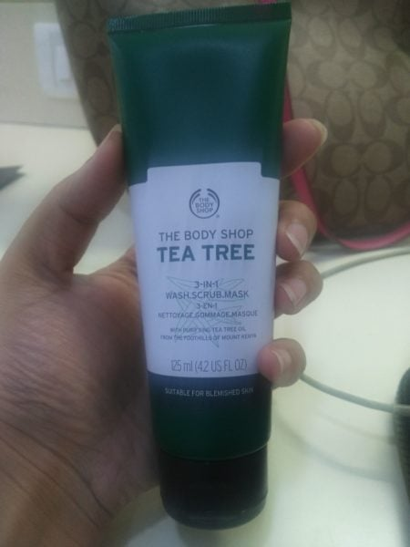 The Body Shop 3 in1 Wash Scrub Mask review