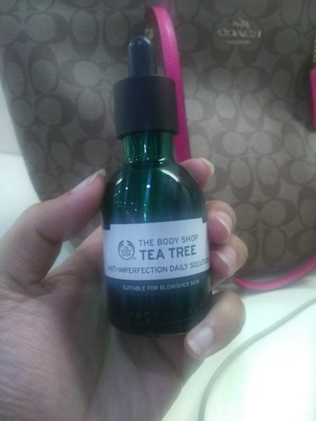The Body Shop Tea Tree Anti-Imperfection Daily Solution review