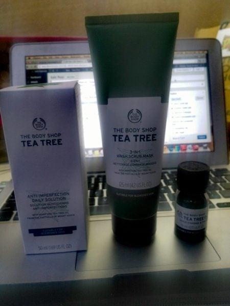 The Body Shop Tea Tree Blemish Battling Team review