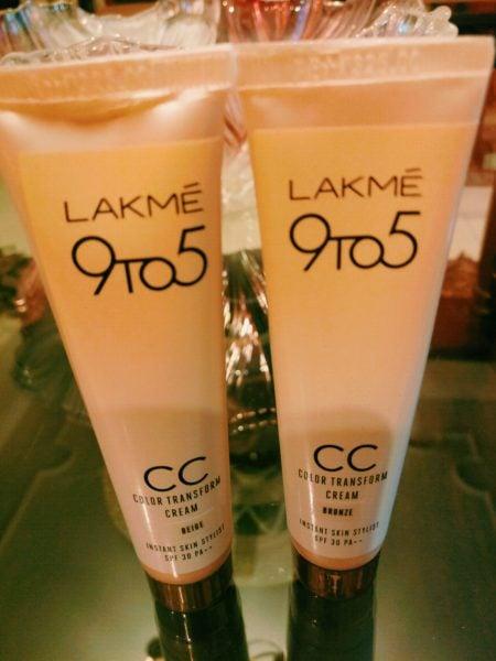 Lakme CC Color Transform Cream review