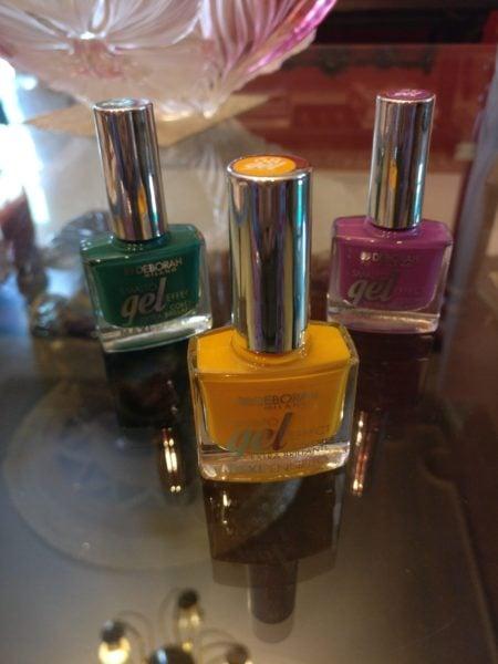 Deborah Milano's Gel effect Nail Paints review