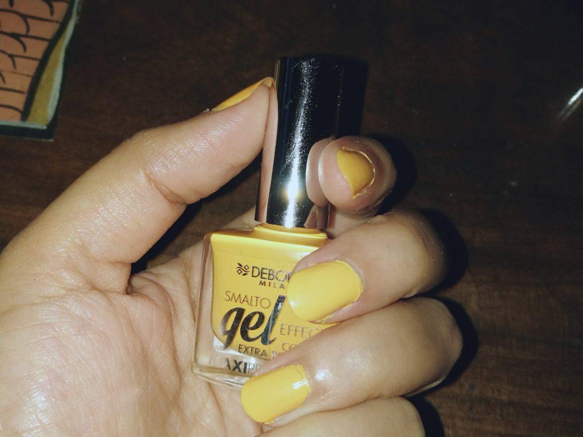 Deborah Milano Gel effect Nail Paint review