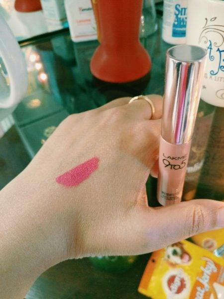 Lakme Weightless Matte Mousse Lip & Cheek Color review