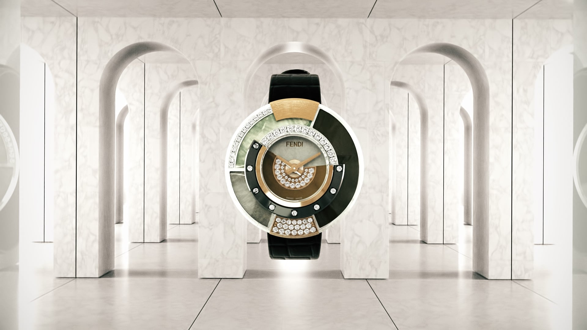 Fendi Policromia High Jewellery Watches Collection