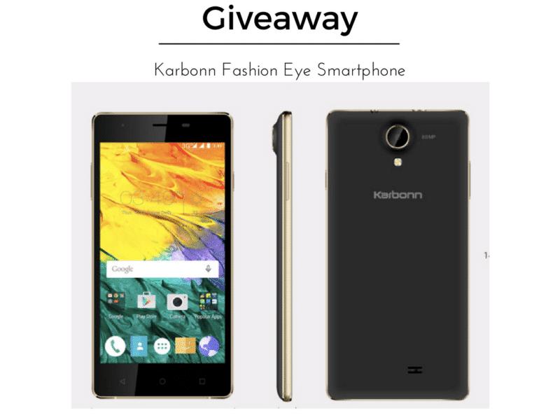Giveaway Karbonn Fashion Eye Smartphone